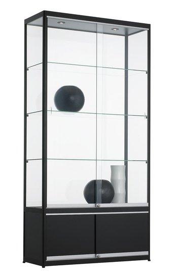 Vitrinekast 200x100x40cm