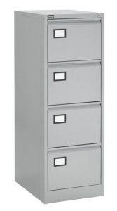 Dossierkast 4laden grijs
