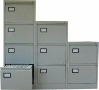 Dossierkast 3laden grijs dossierkasten