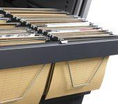 Hangmappenframe Roldeurkast 120cm
