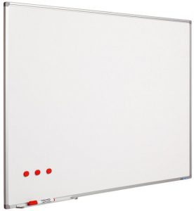 Whiteboard XL wit geëmailleerd staal