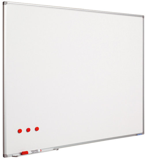 Whiteboard Large wit geëmailleerd staal
