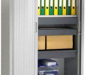 Roldeurkast 198x100x43cm Aluminium roldeurkasten