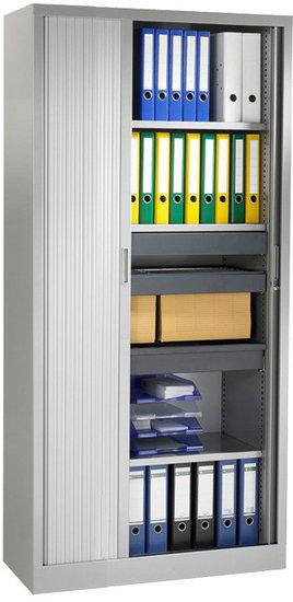 Roldeurkast 198x100x43cm Aluminium