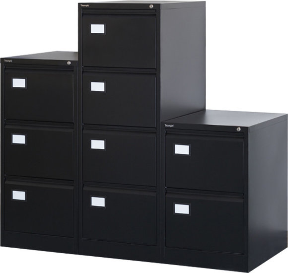 Dossierkast 3laden zwart