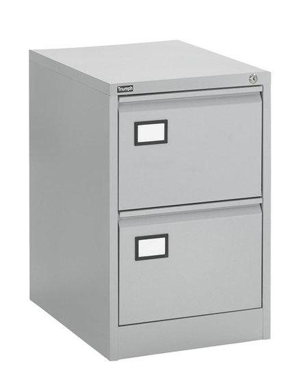 Dossierkast 2laden aluminium dossierkasten