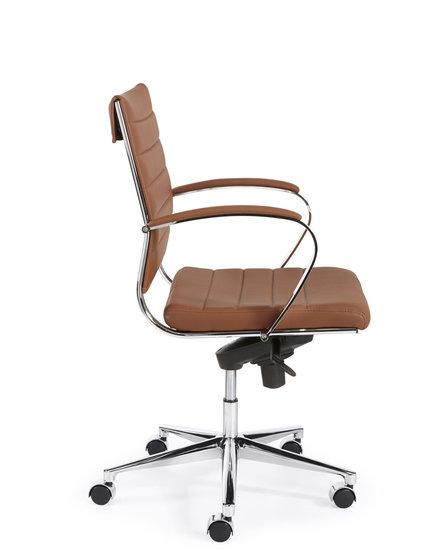 Design Bureaustoel bruin
