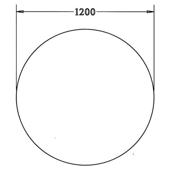 Vergadertafel Rond 120cm