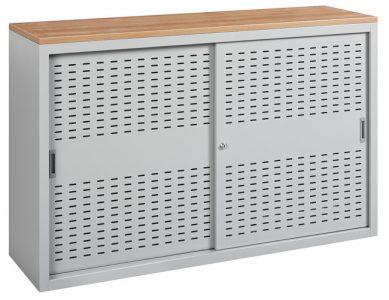 Schuifdeurkast 100x160x45cm Aluminium