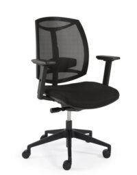 Bureaustoel zwart design