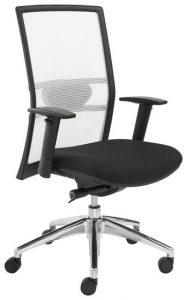 Bureaustoel zwart wit