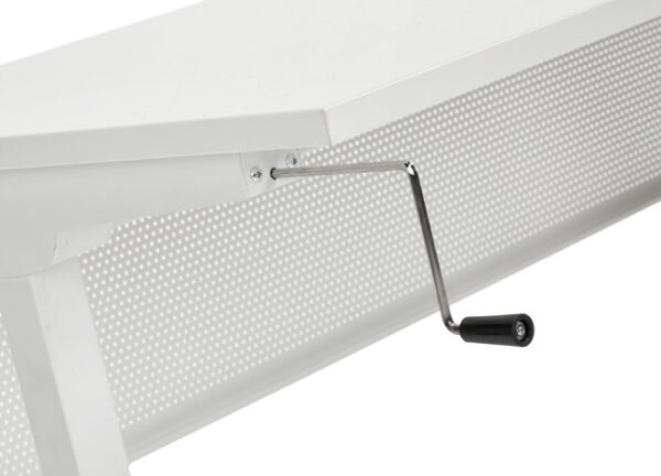 Bureau slinger 120x80cm wit