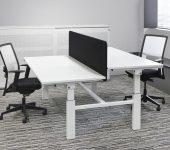 Duo/Bench 160x80cm zit sta bureaus