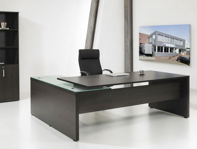 Hoekbureau Directie luxe bureau