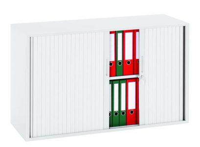 Roldeurkast 72,5x120x43 cm Wit