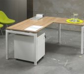 Luxe Bureau Wit 180x80cm Aanbouwtafel