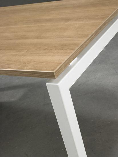 Luxe Aanbouwtafel Wit 80x60cm