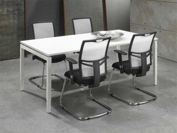 Luxe Bureau Wit 180x90cm