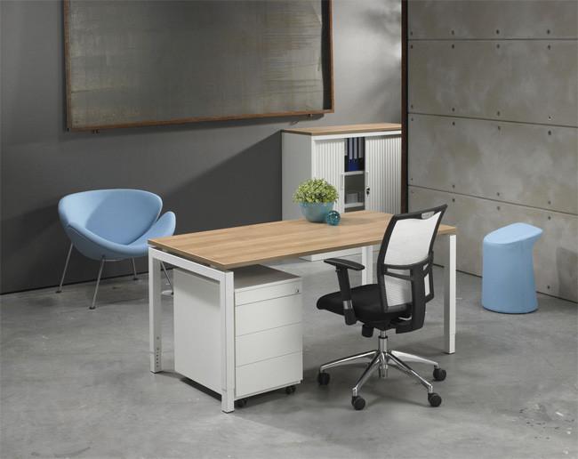 Luxe bureau wit 160x80cm kantoormeubelen.pro