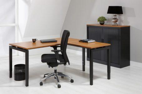 Luxe Bureau Antra 180x80cm + Aanbouwtafel