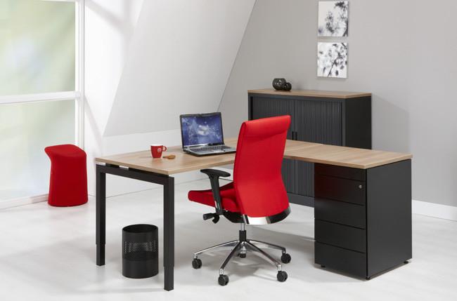 Luxe bureau met ladeblok antra cm kantoormeubelen pro