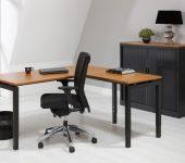Luxe Aanbouwtafel Zwart 60x80cm