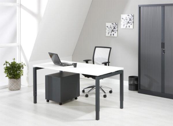 Luxe Bureau Antraciet 180x80cm