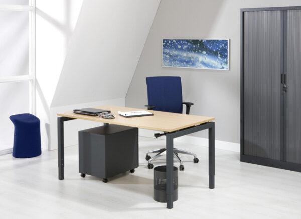 Luxe Bureau Antraciet 160x80cm