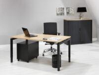 Luxe Bureau Zwart 140x80cm