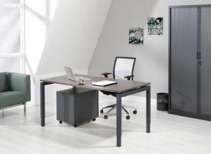 Luxe Bureau Antraciet 140x80cm
