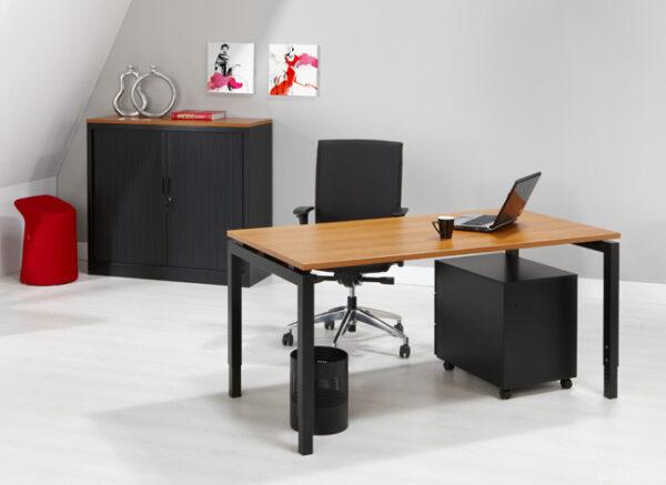 Luxe Bureau zwart 120x60cm