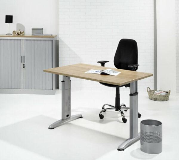 werkplek aanbouwtafel 60x80cm