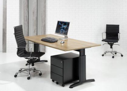 Ergonomische Bureautafel 180x80cm