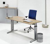 Ergonomische Bureautafel 160x80cm