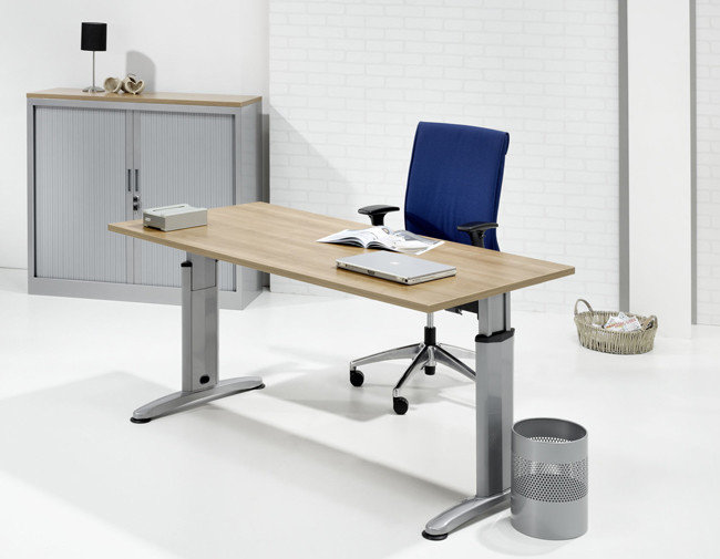 Ergonomische bureautafel cm kantoormeubelen pro