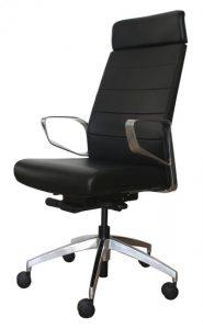 Directiebureaustoel Luxe zwart