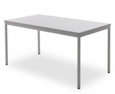 Kantoortafel grijs 80x60cm