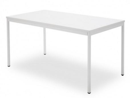 Kantoortafel Lovi wit 80x60cm