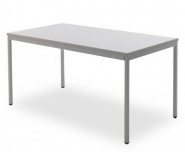 Kantoortafel grijs 120x60cm