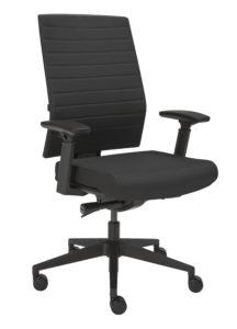 Bureaustoel ergonomisch NEN 1335 met armleggers – Incl. montage