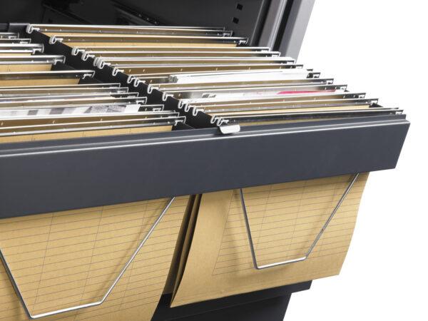 Roldeurkast 105x120x43cm Antraciet