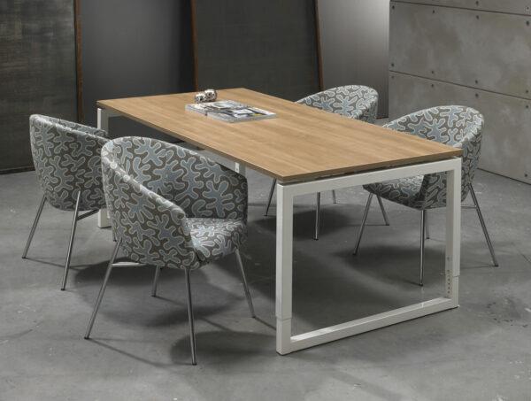 Bureau vergadertafel Wit 320x160cm