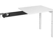 luxe aanbouwtafel wit 80x60 kantoormeubelen.pro