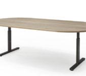 ovale vergadertafel kantoormeubelen.pro