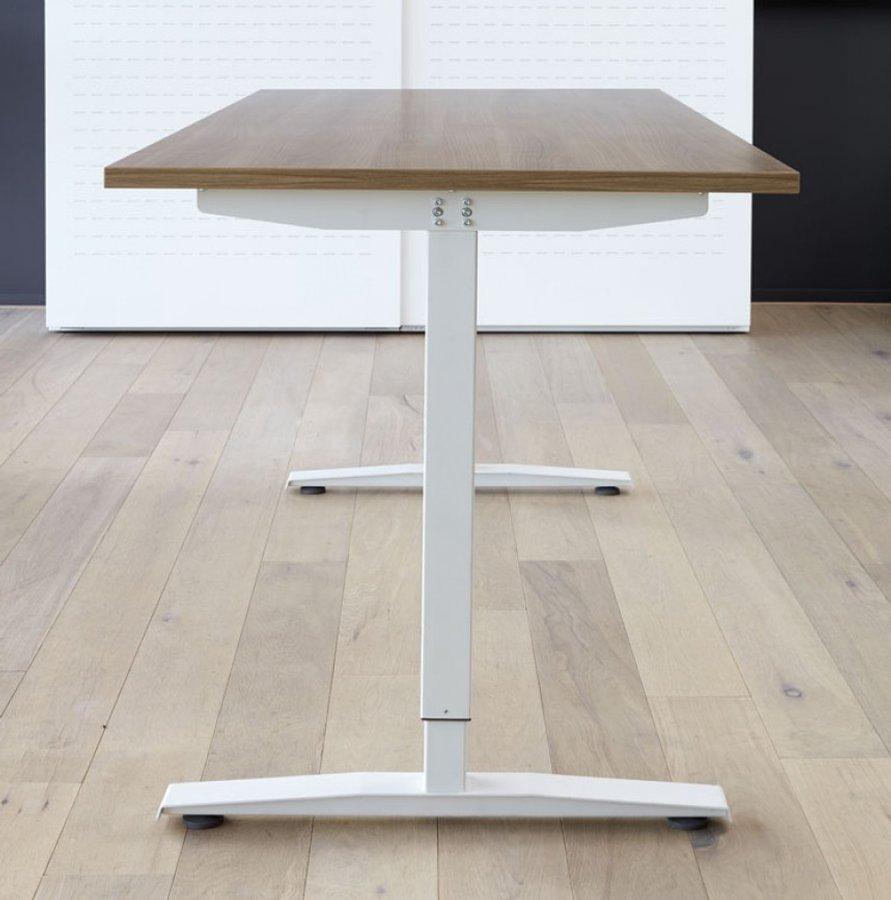 Elektrische zit sta bureau 160 x 80 cm verstelbaar 62 130 for Bureau zit sta