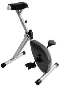 Deskbike Zwart/Zilver *inclusief montage*