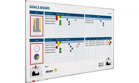 Goals Board softline profiel-120×200 cm