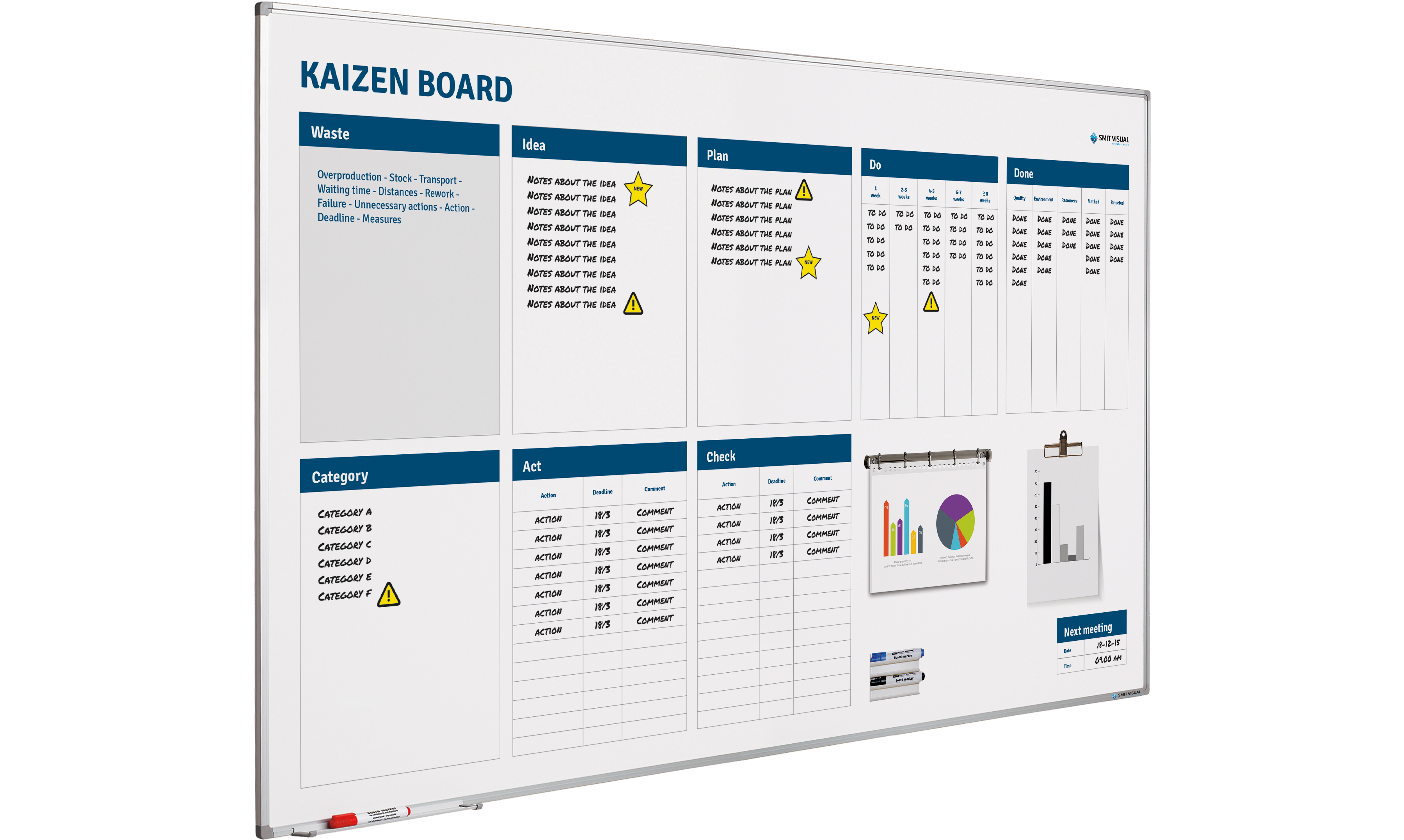 Kaizen Board softline profiel-120x200 cm