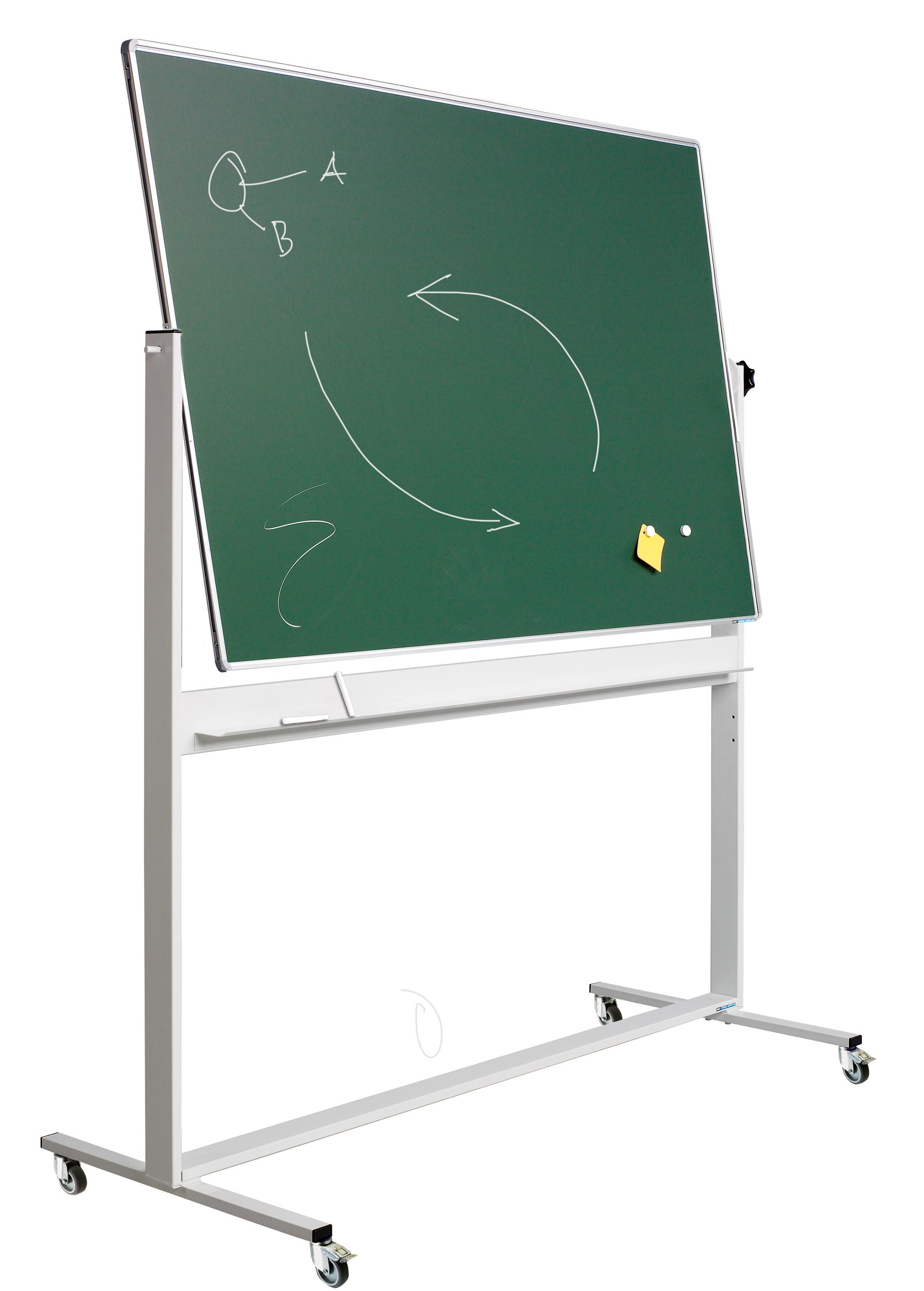 Kantelbord Solid RC10mm profiel, email groen/groen-90x120 cm