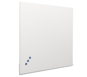 Whitebord Frameless emailstaal wit